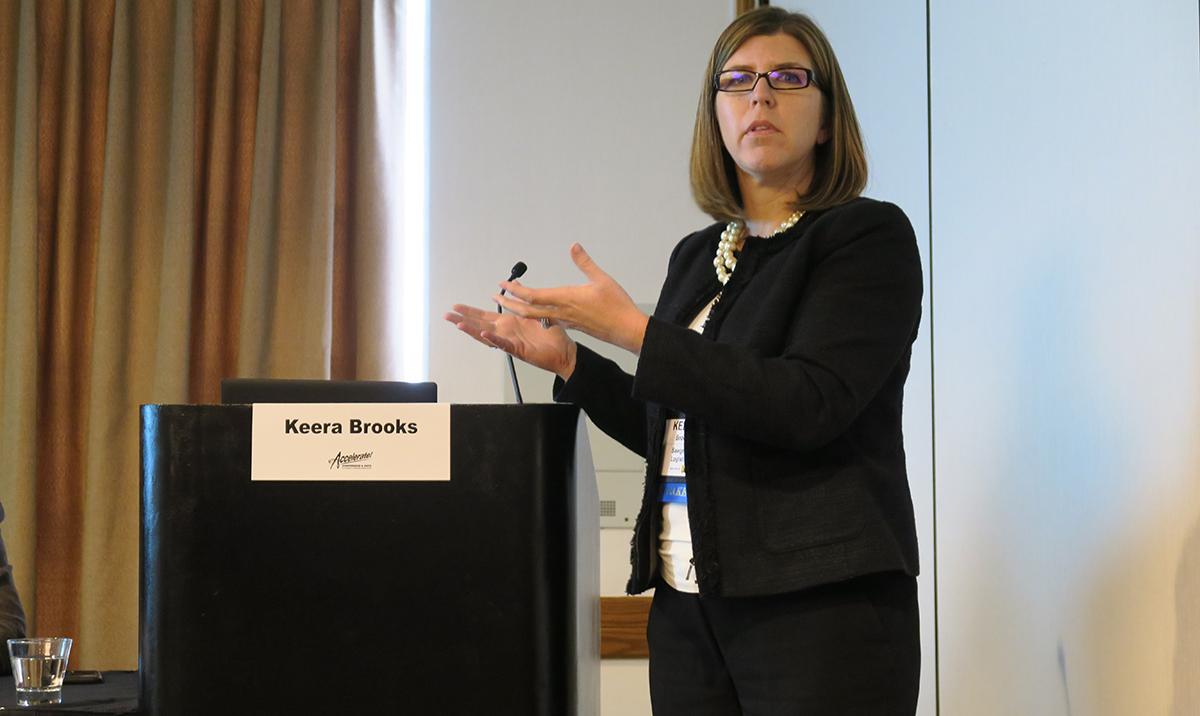 Keera Brooks, CEO of Sawgrass Logistics