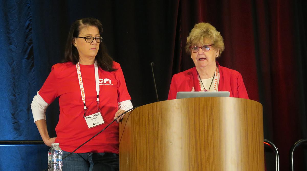 CFI's Gretchen Jackson and Lana Batts of Driver iQ