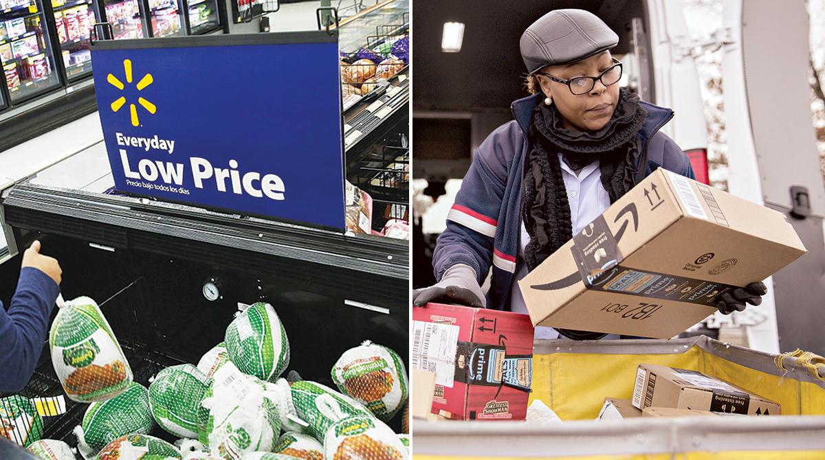 Walmart vs. Amazon price war