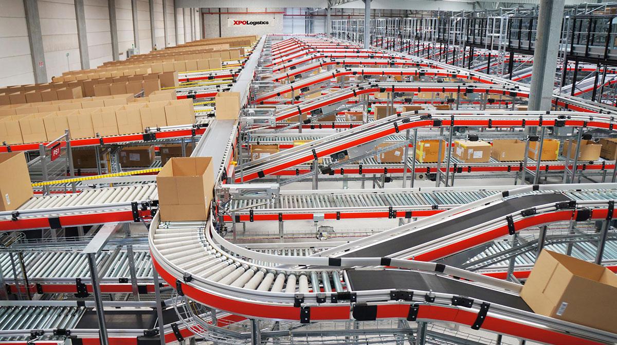 XPO Logistics supply chain facility
