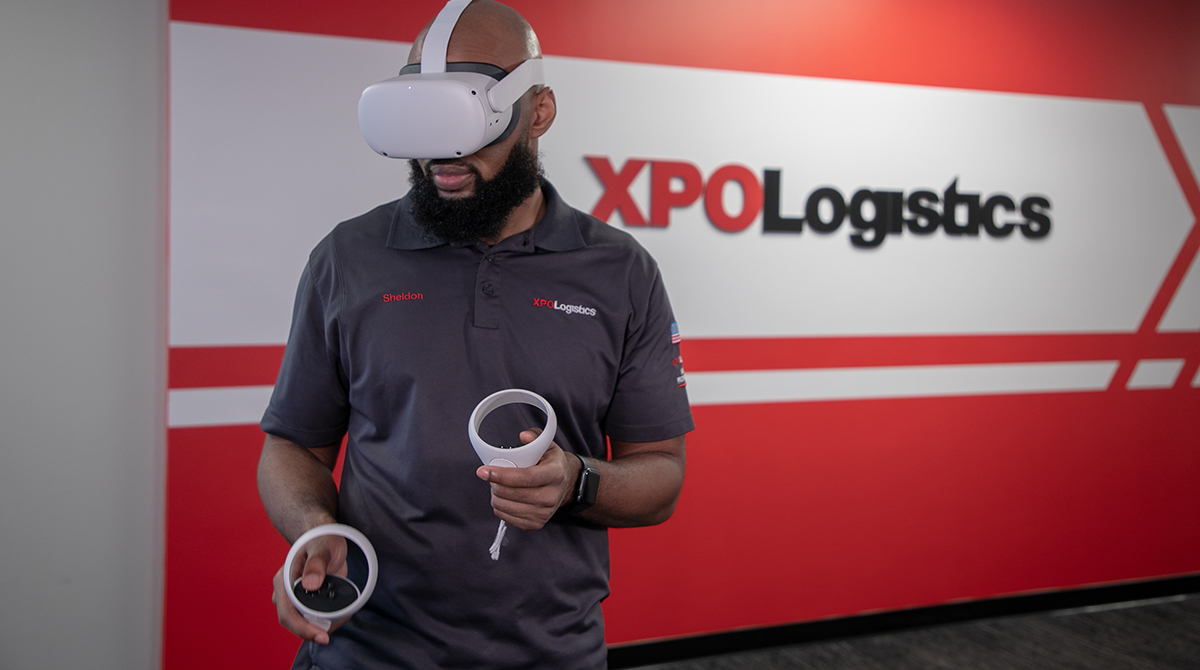 VR headset training