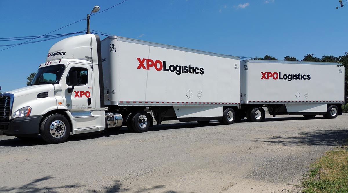 XPO Logistics tractor-trailer