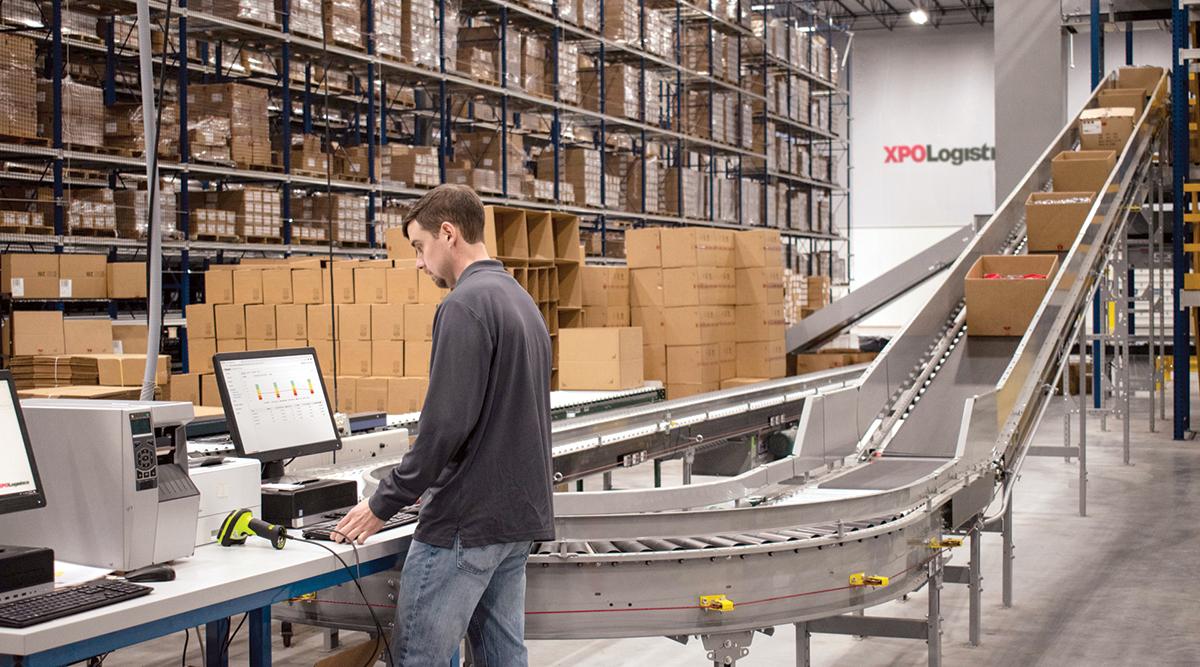 An XPO warehouse