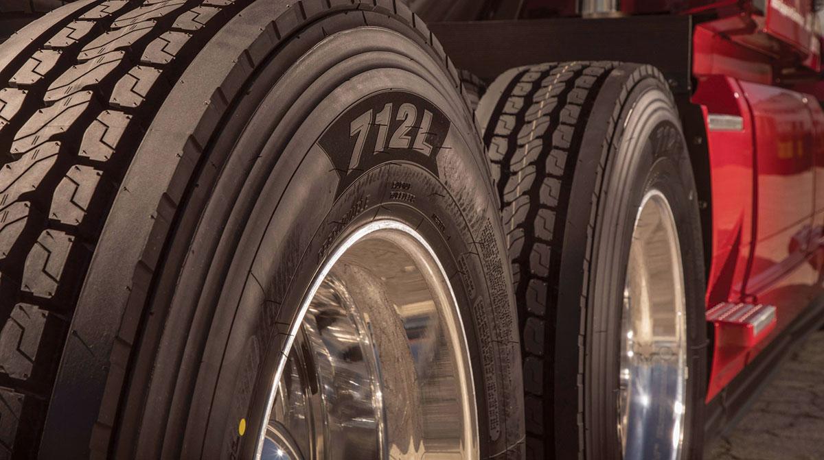 Yokohama 712L tires