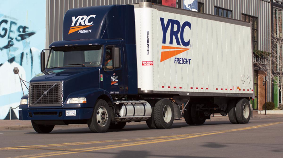 YRC Worldwide truck