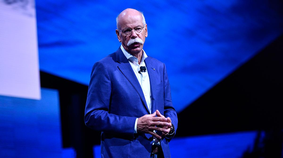Daimler CEO Zetsche
