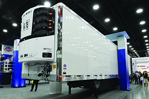 Thermo King refrigerated trailer