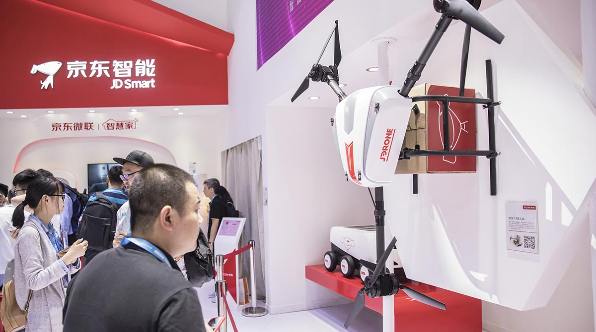 SF Holding delivery drone