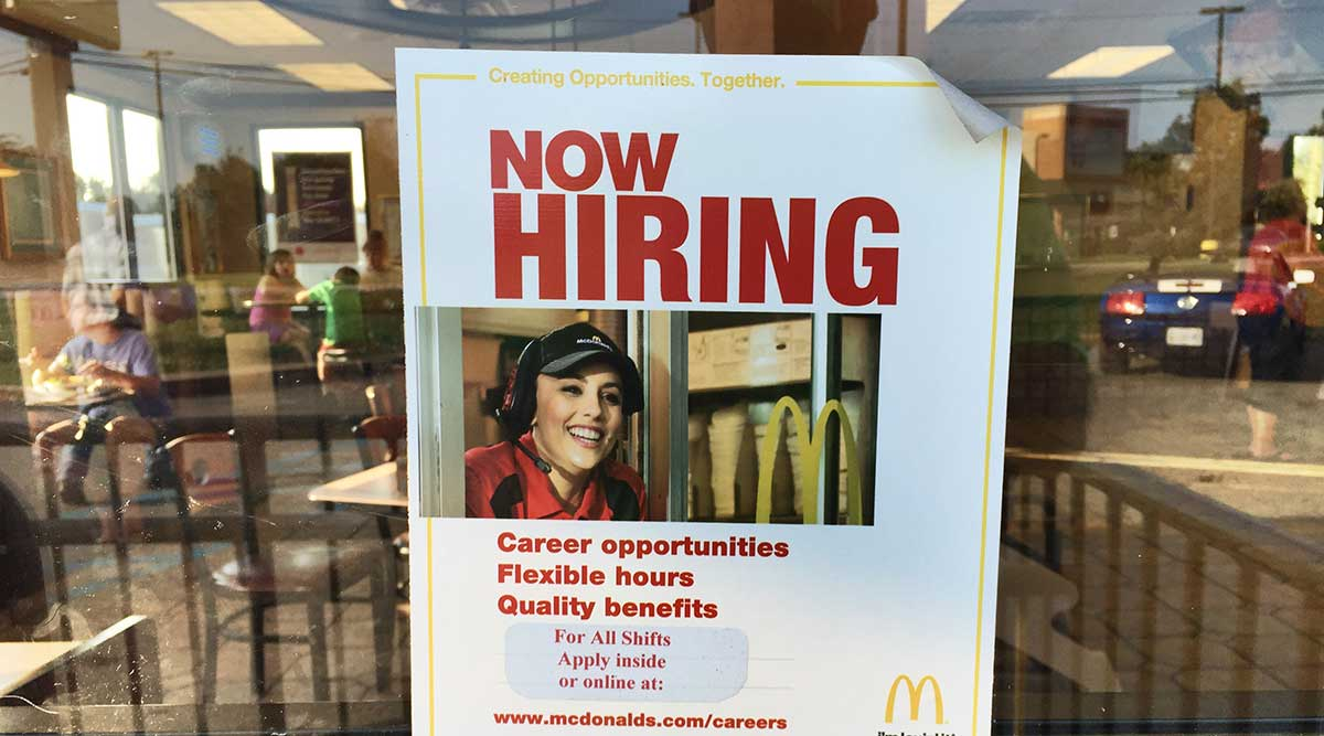 job openings surge to record in sign of robust labor demand