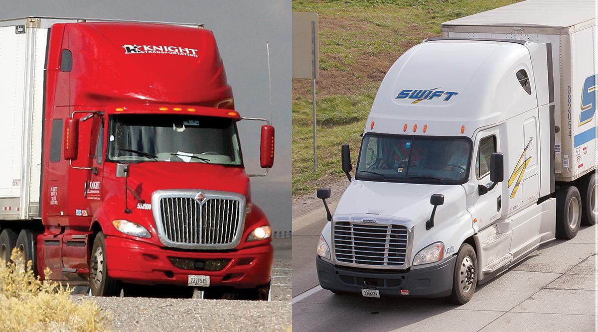 Knight, Swift trucks