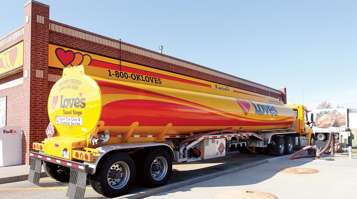Love's tanker