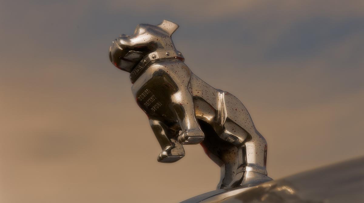 Mack truck hood ornament