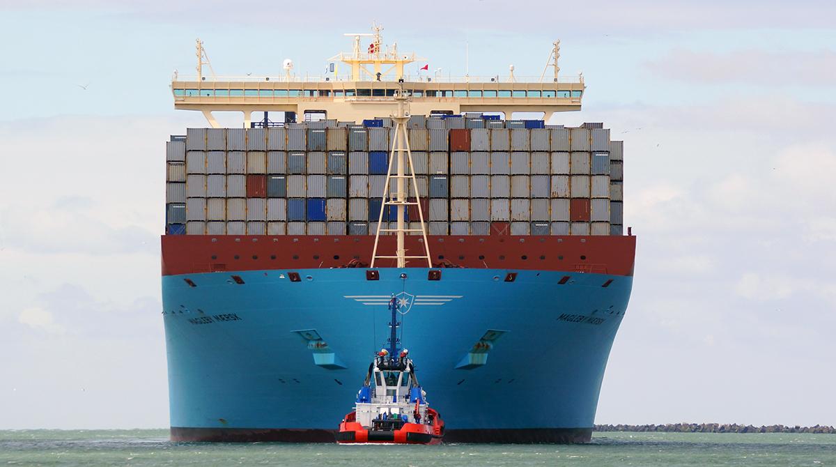 A Maersk Ship