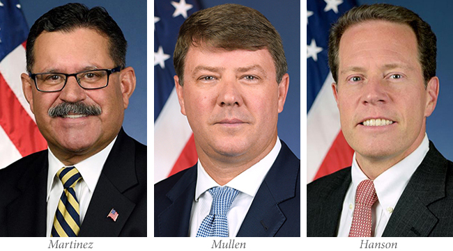 FMCSA leaders who are changing roles