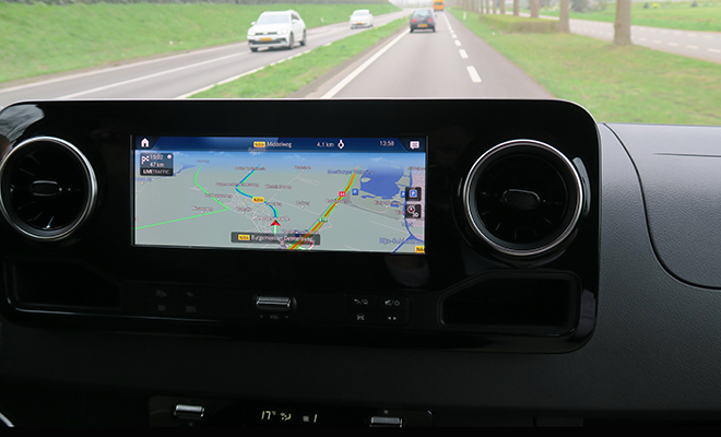 New Mercedes-Benz Sprinter Van Adds Digital Tools for