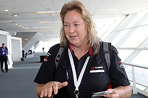 XPO Logistics truck driver Ina Daly of Arizona