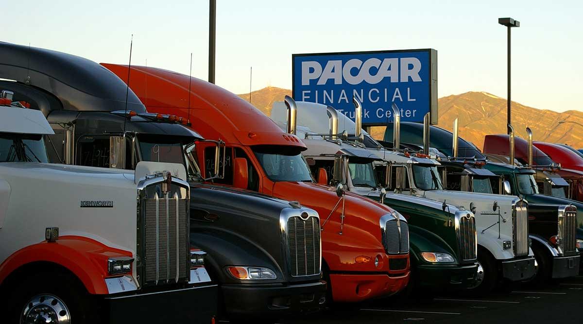 New Kenworth and Peterbilt trucks