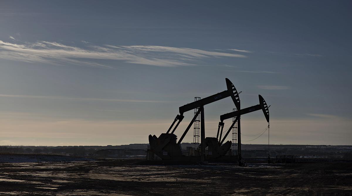 crude oil pumpjacks