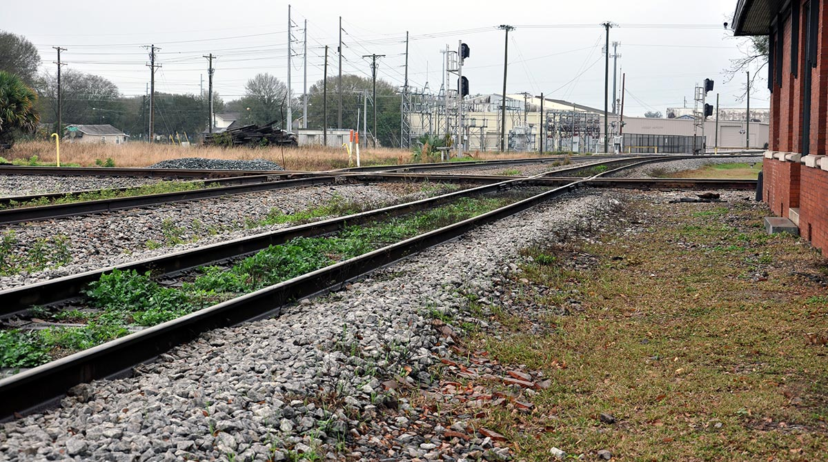 rail tracks Florida plant city