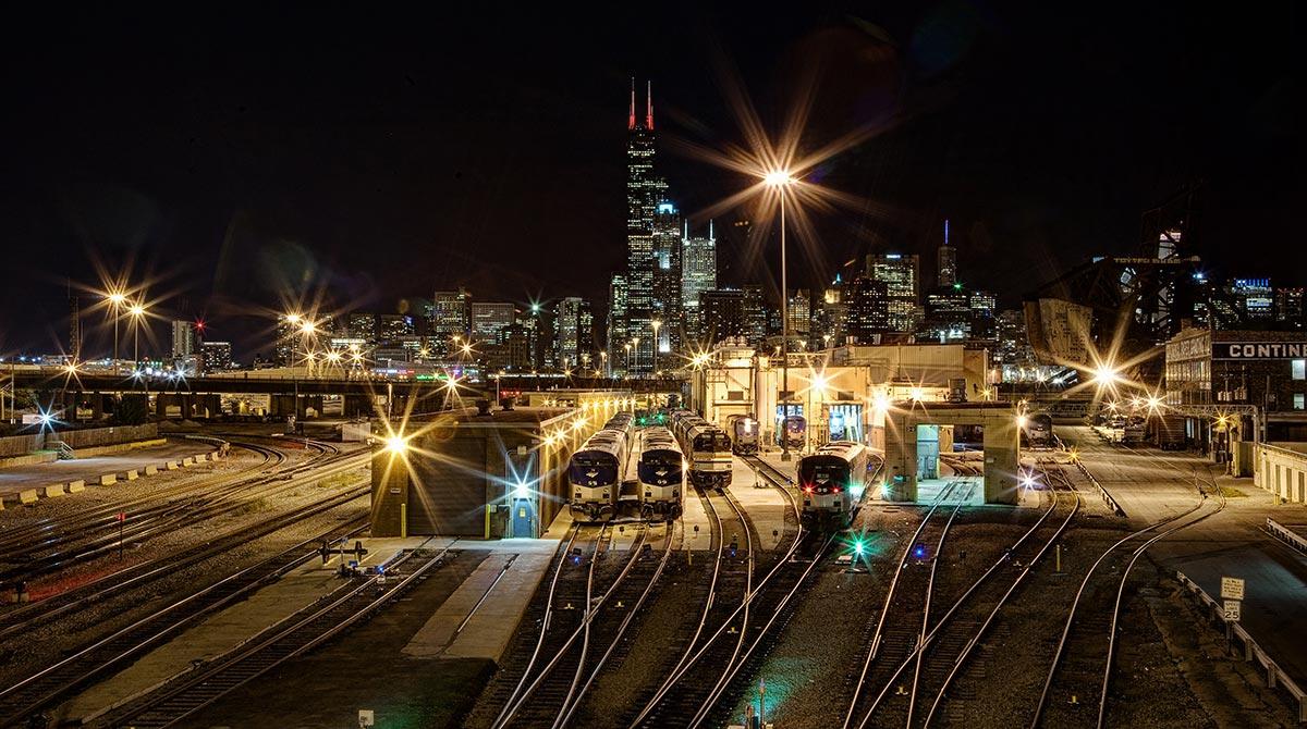 Railyard Near Chicago
