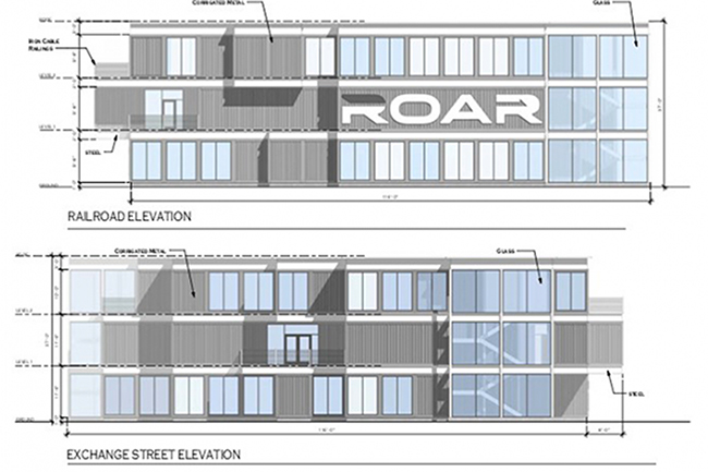 Roar headquarters elevation design
