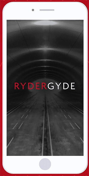 RyderGuide title screen