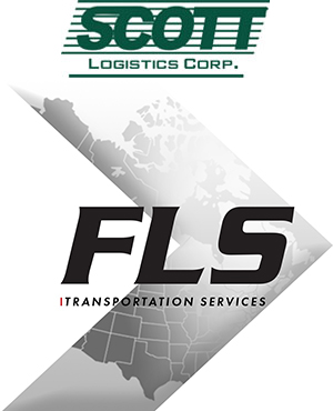 Scott Logistics, FLS Transportation logos