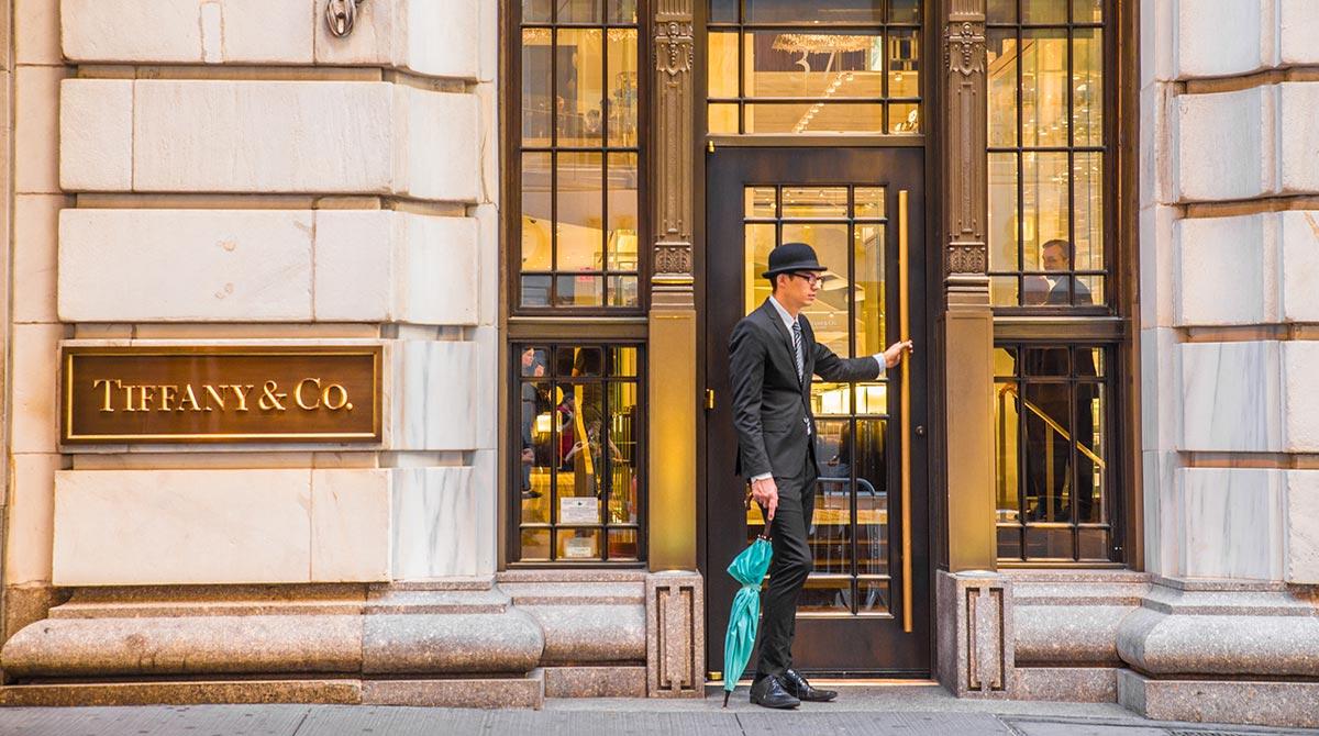 Shopper in New York City