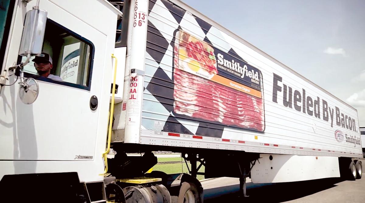 Smithfield Bacon Truck
