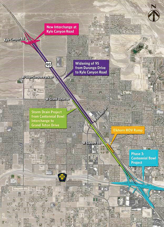 Nevada DOT Awards $65 Million Contract to Expand Las Vegas-Area