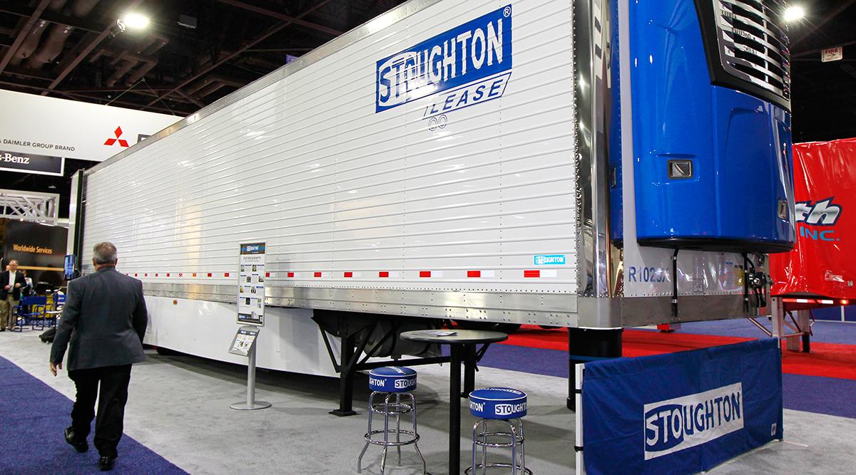 Stoughton's refrigerated PureBlue trailer