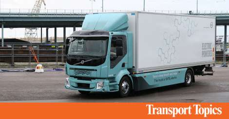 Volvo Pushes Forward With Electric Trucks