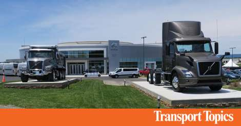 Volvo Trucks Opens Customer Center at Virginia Factory | Transport Topics