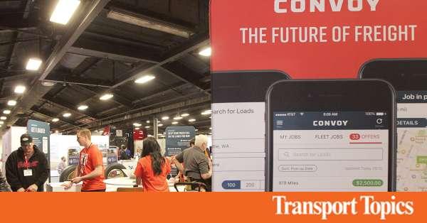 fb99957396b Google Parent Alphabet Backs Trucking Technology Startup Convoy | Transport  Topics