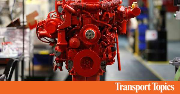 Cummins Leads in Heavier Engines   Transport Topics