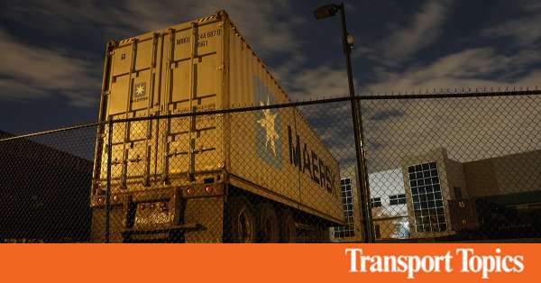 Amazon Threat Has Maersk Racing to Stop Clients From Becoming Rivals