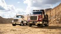 Navistar's next-generation heavy-duty HX International Truck