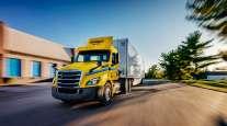 Penske Truck Leasing tractor
