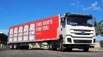 Anheuser-Busch battery-electric truck