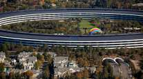 The Apple Park campus in Cupertino, Calif. (Sam Hall/Bloomberg News)