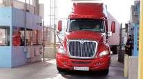 Truck at Otay Mesa Port of Entry