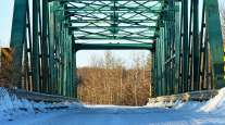 Small bridge closeup