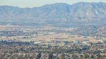 A view of the Burbank airport