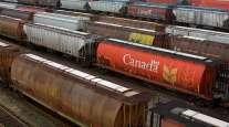 Canada rail yard