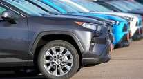 Cars on sales lot