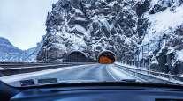 Interstate 70 Hanging Lake Tunnel near Glenwood Springs, Colorado