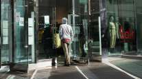 A shopper enters an H&M store in San Diego, Calif. (Bing Guan/Bloomberg News)