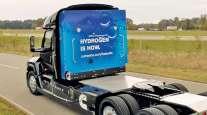 Cummins hydrogen fuel cell tractor