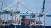 cargo containers Port Miami