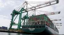 ship at port